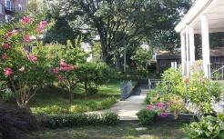 뉴저지 교당 정원